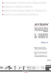 Centrale di sterilizzazione - Aygun catalogo generale