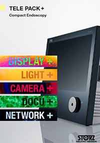 Sistemi video - Colonna Endoscopica Compatta TELEPACK + LED