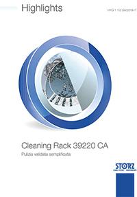 Centrale di sterilizzazione - Highlights Cleaning Rack 39220 CA - Pulizia validata semplificata