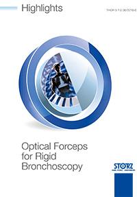 Chirurgia toracica - Highlights Optical Forceps for Rigid Bronchoscopy