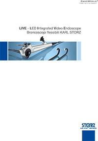 Chirurgia toracica - LIVE - LED Integrated Video Endoscope Broncoscopi flessibili KARL STORZ