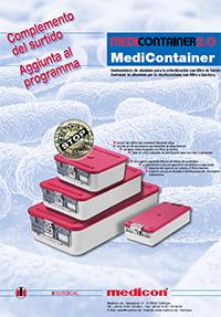 Centrale di sterilizzazione - MEDICON Container 2.0