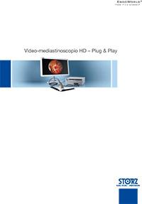Chirurgia toracica - Video-mediastinoscopio HD - Plug and Play