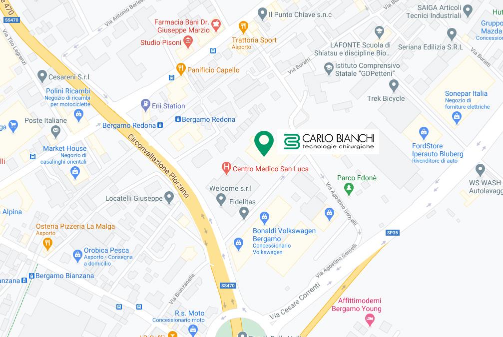 Carlo Bianchi S.r.l. - Contatti - Dove siamo